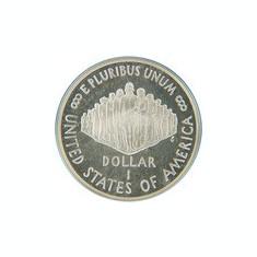Statele Unite (SUA) 1 Dolar 1987 Constitution, Argint 26.73g/900 Aoc1 KM-220 UNC