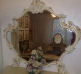 Oglinda vintage/antic/baroc/venetian/rococo/shabby/Silik,Italia,lemn, 1900 - 1949