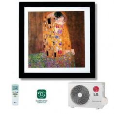 Aparat de aer conditionat LG Artcool Gallery A12FR, 12000 BTU, A++/A+, Wi-Fi Ready (Alb)