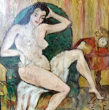 Nud semnat Theodor Pallady