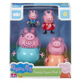 Set Figurine Peppa Pig Family