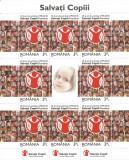 România, LP 1867b/2010, Organizaţia Salvaţi Copii România, minicoală, MNH, Nestampilat