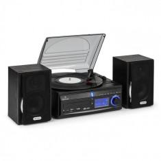 Auna Patefon Stereo DS-2USB MP3, înregistrare