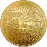ROMANIA, 50 BANI 2011 aUNC * cod 208
