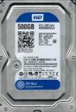 Hardisk WD 500 GB Sata 3 second hand, 500-999 GB, 7200, Western Digital