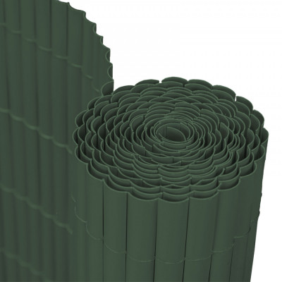Panou Trestie Artificiala pentru Mascare Gard, Culoare Verde Inchis, Dimensiune 200x300 cm foto