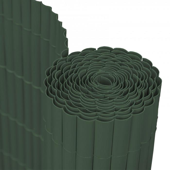 Panou Trestie Artificiala pentru Mascare Gard, Culoare Verde Inchis, Dimensiune 200x300 cm