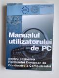 Sandor Kovacs Manualul Utilizatorului De PC Pentru Obtinerea Permisului European