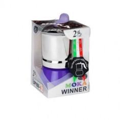 ESPRESSOR MOKA WINNER 6 CUPS VERDE