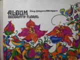Album decorativ floral