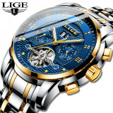 Ceas barbatesc automatic Lige tourbillon