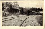 SV * NOUA   Brasov  *  GARA  *  Locomotiva cu aburi * Tren     1925