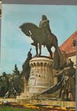 CPIB 17227 CARTE POSTALA - CLUJ NAPOCA. STATUIA LUI MATEI CORVIN, Necirculata, Fotografie