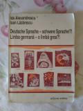Manual de limba germana - Ida Alexandrescu Ioan Lazarescu