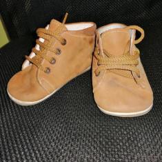 Botosei piele intoarsa Leon Shoes, marimea 20