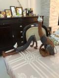 Set 2 statuete Pisica