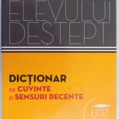 DICTIONAR DE CUVINTE SI SENSURI RECENTE de ANDREI DANILA , ELENA TAMBA , 2014