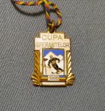 Cupa sperantelor 1960 Ski - medalie - insigna - breloc vechi