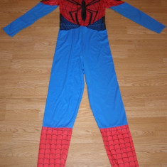 Costum carnaval serbare spiderman pentru adulti marime S, Din imagine