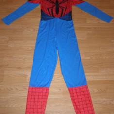 Costum carnaval serbare spiderman pentru adulti marime S, Din imagine