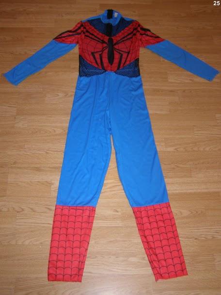 costum carnaval serbare spiderman pentru adulti marime S
