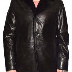 Cojoc barbati, din blana naturala, marca Kurban, A-71-01-95, negru