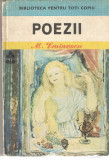 Poezii - Mihai Eminescu - Biblioteca pt. Toti 1986 cartonata