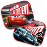 Set 2 parasolare Cars 3 Seven, geamuri laterale, 44x35 cm