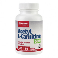 Acetyl L-Carnitine 500mg, 60cps, Jarrow Formulas