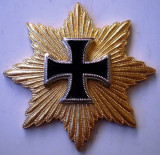 I.062 GERMANIA ORDER 1815 BLÜCHER Iron Cross WATERLOO CRUCEA DE FIER REPLICA