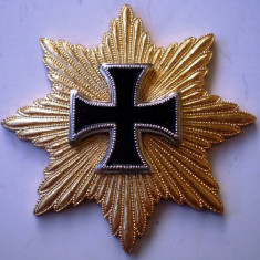 I.062 GERMANIA ORDER 1815 BLÜCHER Iron Cross WATERLOO CRUCEA DE FIER REPLICA