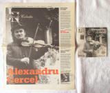 """ALEXANDRU CERCEL. Cantari din secolul al XIX-lea"", CD + ziar JURNALUL, 2007"