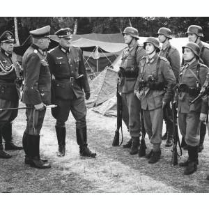 Bocanci militari germani Schnürschuhe Wehrmacht,Waffen SS,WW2,airsoft,paintball