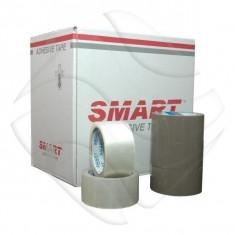 Banda Adeziva scotch 48mmx60m Smart  Adhesive Tape Maro minim 6buc