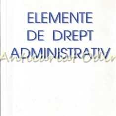 Elemente De Drept Administrativ - Emil Balan