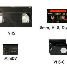 Transfer casete video (VHS) ,(Mini DV) ,(VHS-C),(HI8) PE MEM. USB, DVD