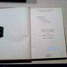 MOTOARE PENTRU AUTOMOBILE SI TRACTOARE - Gh. Bobescu - 1977, 167 p.; 200 ex.