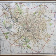 Noul Plan al Orasului Bucuresti, editie oficiala de Capitan Mihail C. If. Pantea, 1920