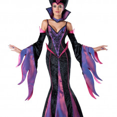 C503-1110 Costum tematic Halloween, model vrajitoare, S/M