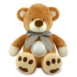 Cumpara ieftin Ursulet de plus Baby Mix Puff Bear Maro cu muzica
