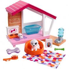 Set Barbie - Casuta catei cu accesorii