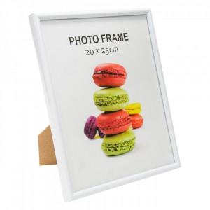 Rama foto, 21×26 cm, alb