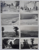 8 CARTI POSTALE INTERBELICE  - GARANA/WOLFSBERG, Ambele, Romania 1900 - 1950
