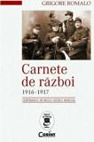 Cumpara ieftin Carnete de razboi 1916-1917/Grigore Romalo, Corint