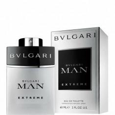 Apa de toaleta Bvlgari Man Extreme, 60 ml, Pentru Barbati