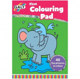 Early Activities: Prima carte de colorat, Galt