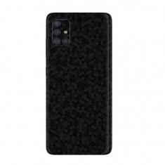 Folie Samsung Galaxy A51 ApcGsm Skin HoneyComb Black