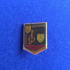 INSIGNA PIONIER- PIONIER INTERPRET (fond verde inchis)