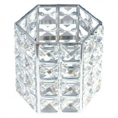 Suport Pensule Crystal, Rich Silver