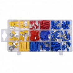 Set conectori electrici pentru auto Yato YT-06891, 160 buc, in cutie organizatoare